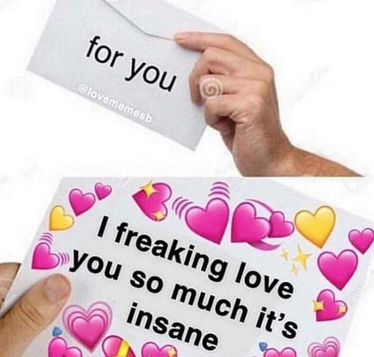 Pin By Andrea Saravia On Aesthetic Love You Meme Romantic Memes Cute Love Memes