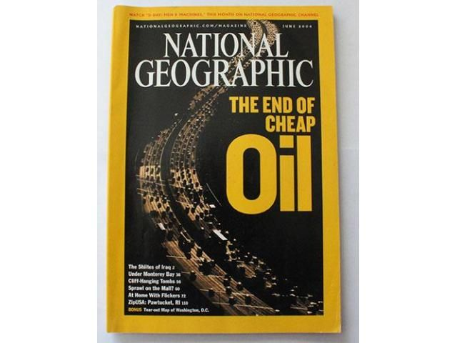 National Geographic magazine 6/04 The end of cheap oil The Shiites of Iraq Under Monterey bay- Cliff hanging tombs