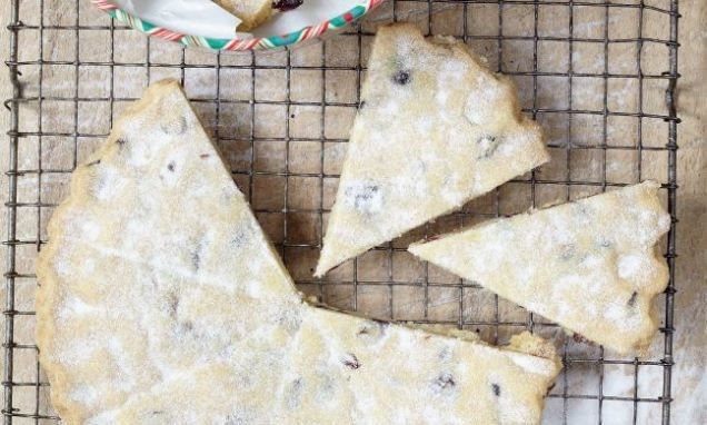 I always have a tin of shortbread ready to offer friends (and always keep a stock in the freezer too). For me, the addition of cranberries and white chocolate chips has made this shortbread even more irresistible. Use dark chocolate chips if you prefer.