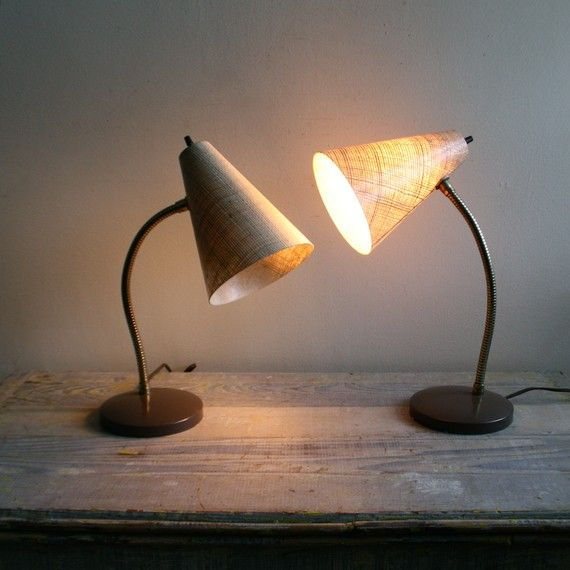 awesome midcentury lamps. from ethanollie