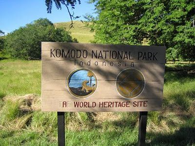 Komodo National Park, Located Between the Island of Sumbawa and Flores