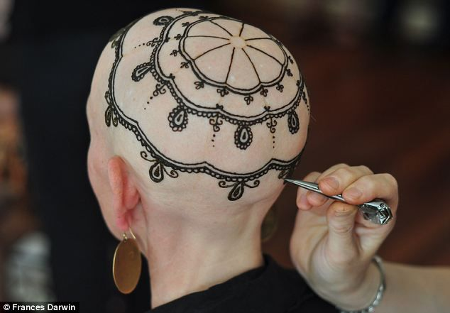 henna crowns for cancer treatment patients...wish I knew how to link this to FB so Jane could see it!