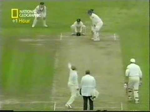 Shane Warne - Ball Of The Century - YouTube. Warne bowls Gatting.