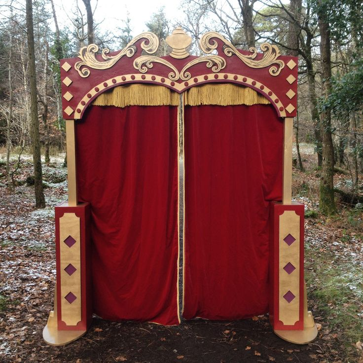 Circus entrance arch or back drop