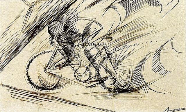 Umberto Boccioni, Dynamism of the Cyclist