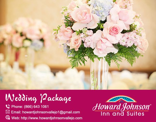 Howard Johnson Inn & Suites of Vallejo offer attractive #Wedding_Package. Visit Us At:- http://bit.ly/2ctBog5a