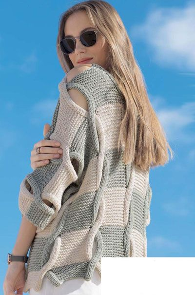 вязаные спицами модели для девушек вязаная мода для молодежи и