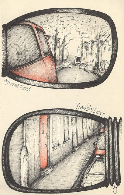 along for the ride by andrea joseph's illustrations, via Flickr.... want to keep a journal for my 40th year... good ideas