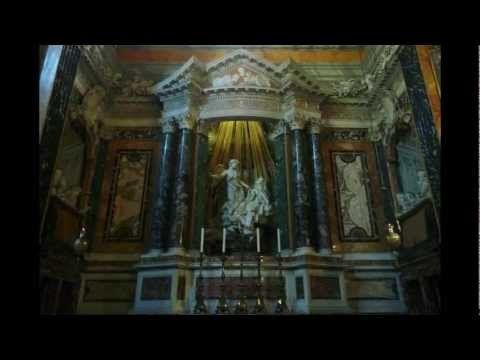 Ecstasy of St. Teresa, 1645-52, by Gian Lorenzo Bernini, found in the Cornaro Chapel in Santa Maria della Vittoria, Rome)
