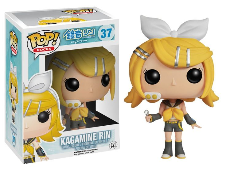 Your favorite Vocaloid characters in adorable vinyl form. Collect them all!