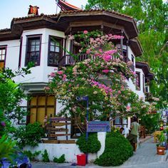 A lovelyTraditional houses in #Akyaka #Mugla #Turkey // Photography by Burak (@bophotographer) | Instagram photo