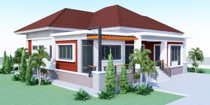 2 Bedroom House Design In 160 Sq M Floor Area Pinoy Eplans Metal Building House Plans House Plan Gallery Bungalow House Plans