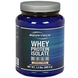 Buy Whey Protein Isolate - Cookies & Cream (1.5 Pound Powder) from the Vitamin Shoppe. Where you can buy Whey Protein Isolate - Cookies & Cream and other products? Buy at at a discount price at the Vitamin Shoppe online store. Order today and get free shipping on Whey Protein Isolate - Cookies & Cream (UPC:766536026975)(with orders over $35).