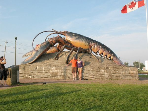 World's Largest Lobster, Shediac, New Brunswick