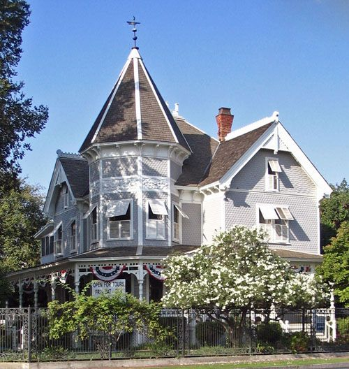17 best images about fresno 39 s history on pinterest city for Victorian house facts