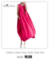 Belinerosa женские летние платья 2017 pure color повседневная женщины драпированные dress рукавов плюс размер платья для женщин qy00001 купить на AliExpress