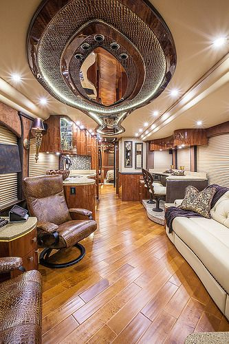 Gypsy Living Traveling In Style| Serafini Amelia| Millennium Luxury Coaches| Visit mlcy.com for more info