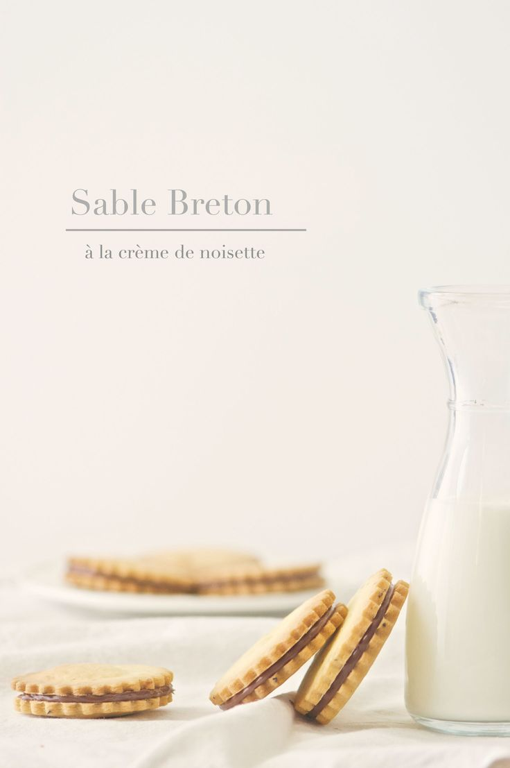 Sable Breton à la crème de noisette ricetta dello chef pasticcere Andrea Aiello