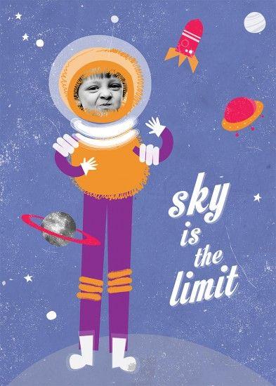 Plakat Sky is the limit