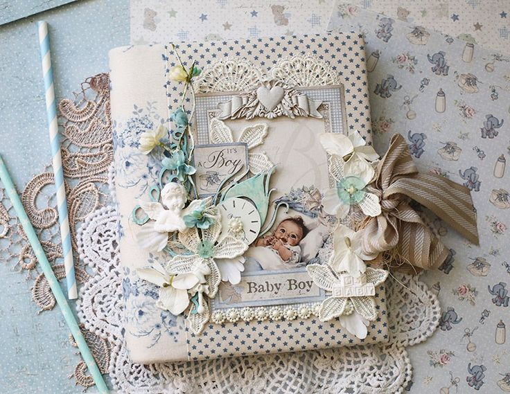 Hello dear friends! Its Evgenia Petzer with you today and I have prepared the idea of refillable baby album in a fabric cover. I bought the regular student folder and covered it up with Tilda fabri…
