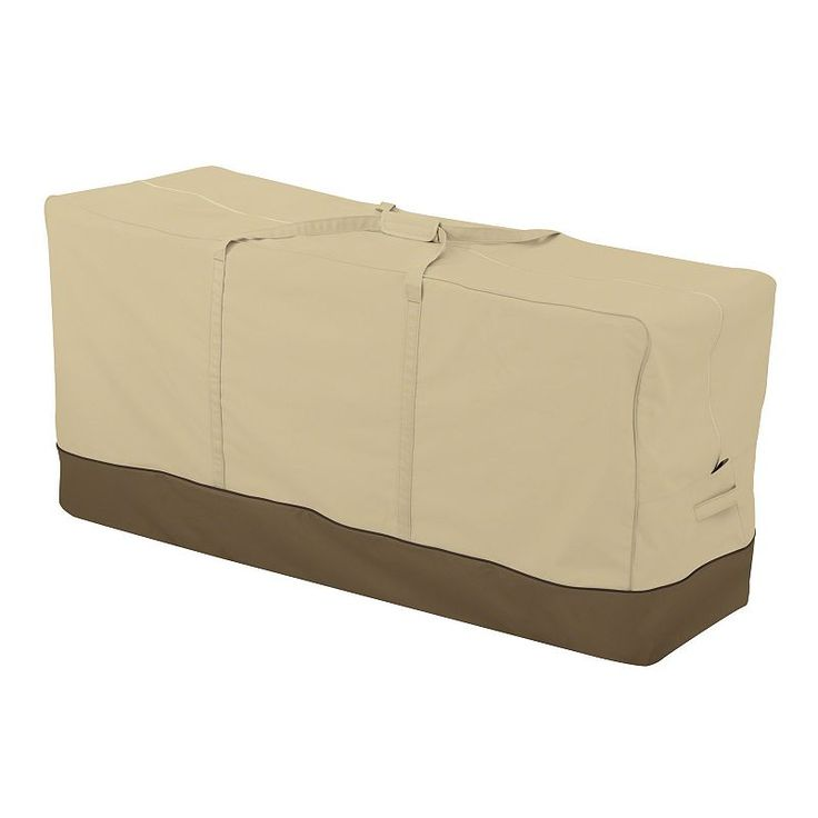 Outdoor Veranda Oversized Patio Cushion Storage Bag, Beig/Green (Beig/Khaki) Part 75