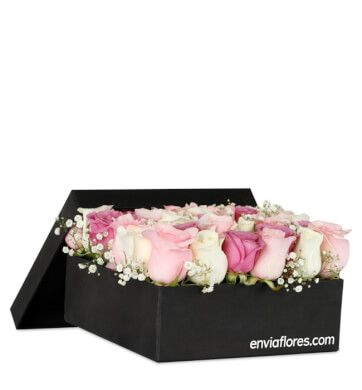 Dulces 30 Rosas En Caja Premium