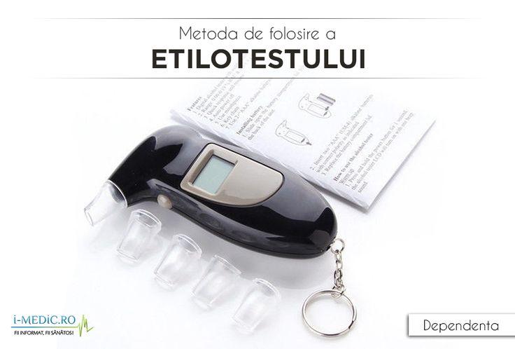 Etilotestul este un aparat folosit pentru determinarea concentratiei de alcool in sange, prin stabilirea concentratiei de alcool in aerul expirat. In prezent pe piata pot fi gasite numeroase variante ale etilotestului, unele electronice, altele manuale - http://www.i-medic.ro/tutun-alcool-droguri/metoda-de-folosire-a-etilotestului