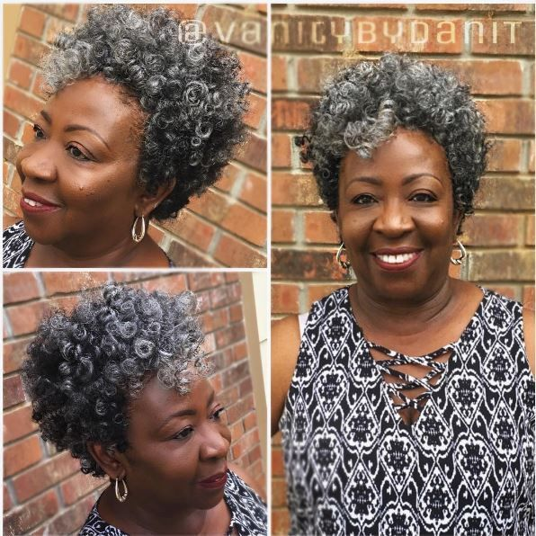Natural Hairstyles For Older Black Woman Elegant 225 Best Cool