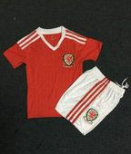 Kids Wales National Team Euro 2016 Soccer Shirt With Shorts [D315]