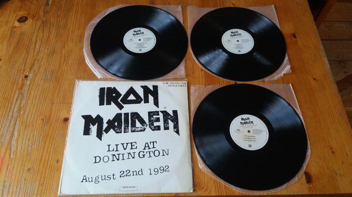 Iron maiden live op Donington aug 92  EMI-168 827511 1Formaat:3  vinyl LP Album Limited EditionLand:BraziliëUitgebracht:1993Genre:RockStijl:Heavy Metal  EUR 42.00  Meer informatie