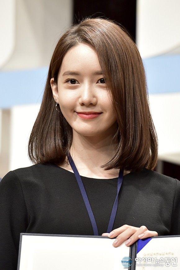 Pin Oleh Light Up The Sky Di Yoona Safety Ambassador By City Government Of Seoul June 2018 Gaya Rambut Pendek Gaya Rambut Ide Gaya Rambut