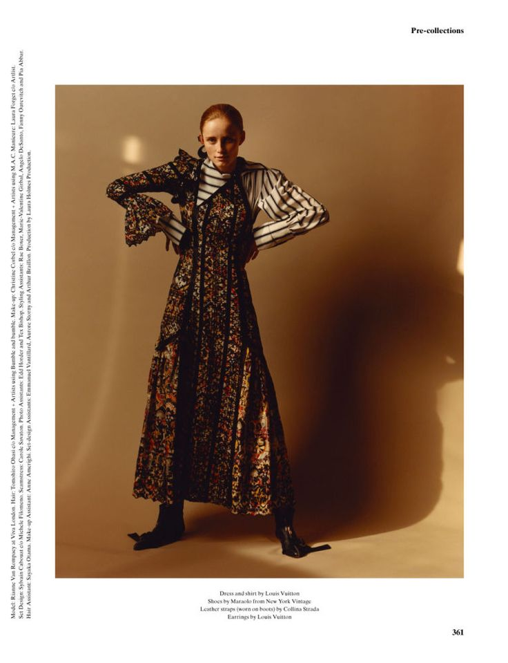 Fashion Copious - Rianne Van Rompaey by Jamie Hawkesworth for System No.6