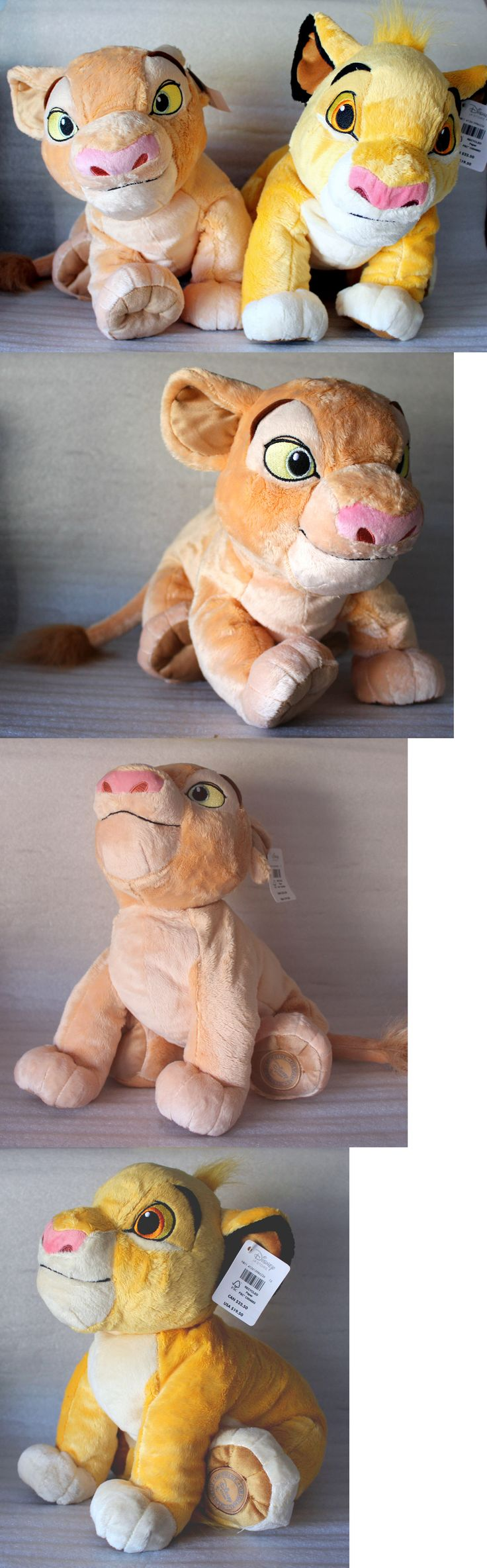 Lion King 44037: Disney Store The Lion King Young Simba And Nala Cub Medium Plush Toy Stuffed New -> BUY IT NOW ONLY: $39.99 on eBay!
