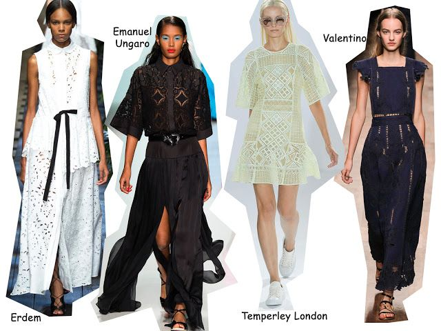 StyleSpectra: Trend Alert SS15 - Broidery Anglaise