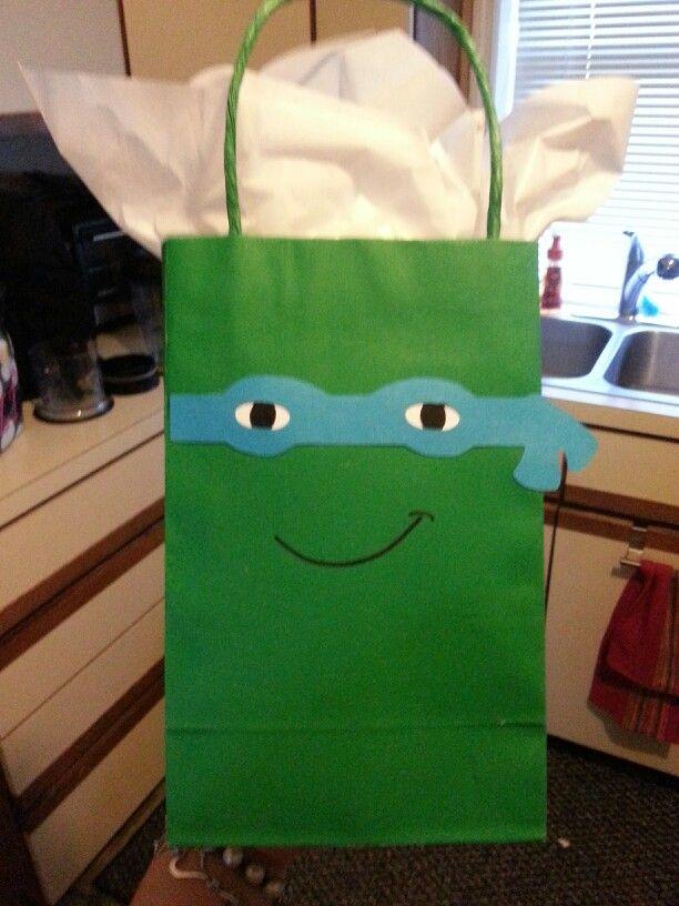 TMNT Birthday Bag