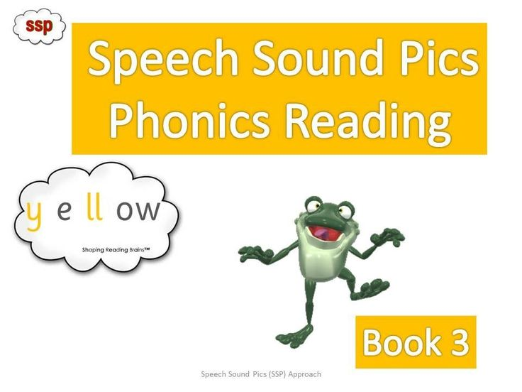 SSP Book Tier- Yellow Level Reader Book 3 - Free Coded (phonics?) readers