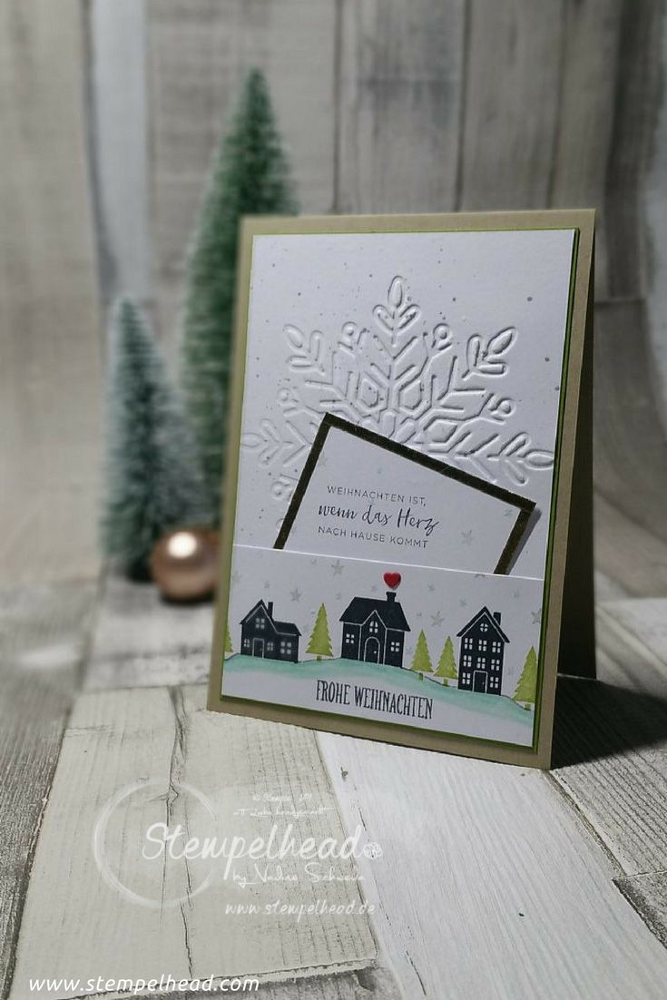 Noch 5 Tage bis Weihnachten – Weihnachtskarte 3 | Stamping Ideas ...