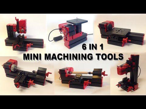 Yoshiny's Design: 6 in 1 Mini Machining Tools