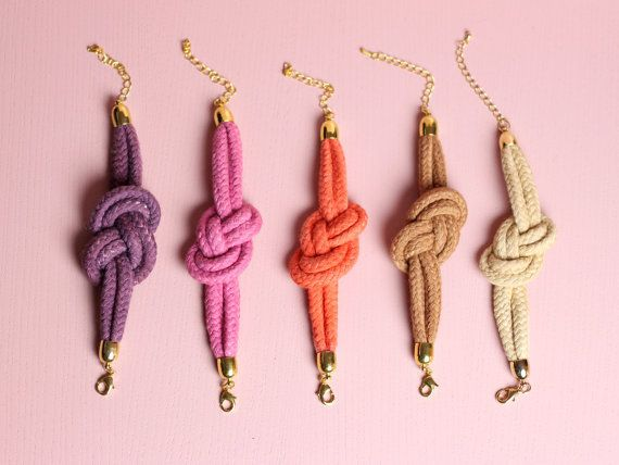 SALE - Sailor Knot Bracelet in various colours
