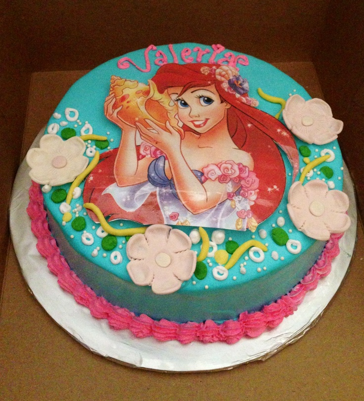 Sirenita Cake, Pastel De