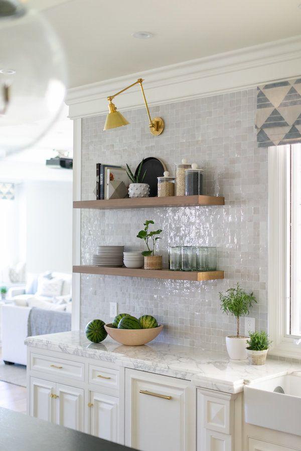 brooke wagner design contemporary kitchen design oak on floating shelves kitchen id=60506