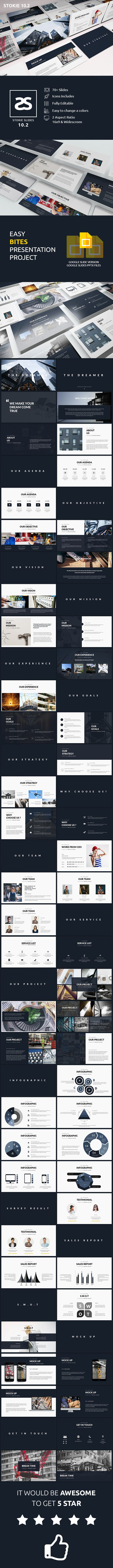 91 best google slides templates images on pinterest keynote modern construction google slide template 102 business powerpoint templateskeynote templatepresentation alramifo Images