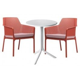 Nardi Net Relax 3 Piece Set with Step Table