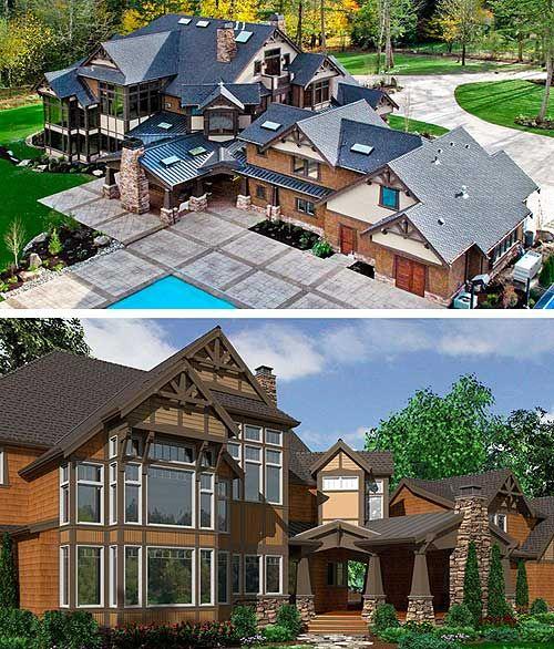 Lake Tahoe Luxury Homes: Craftsman Masterpiece With Studio - 23290JD