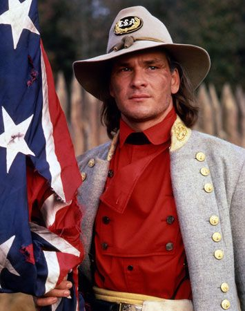 Patrick portrayed Confederate soldier Orry Main in the1985 North and South miniseries. The South never looked so good.