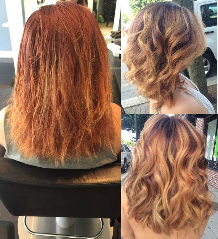 how to get orange color out of hair