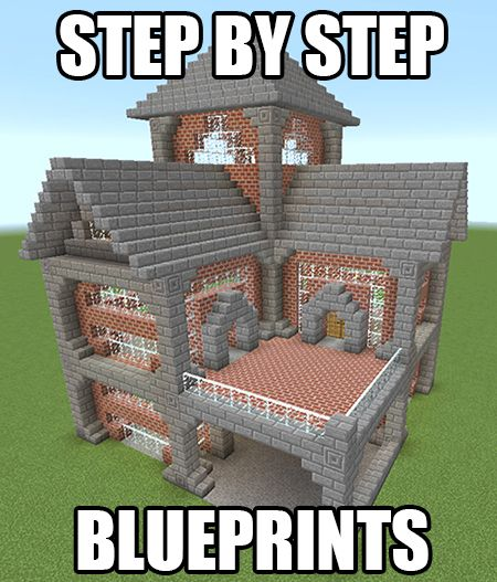 1000 ideas about minecraft blueprints on pinterest for Awesome house blueprints