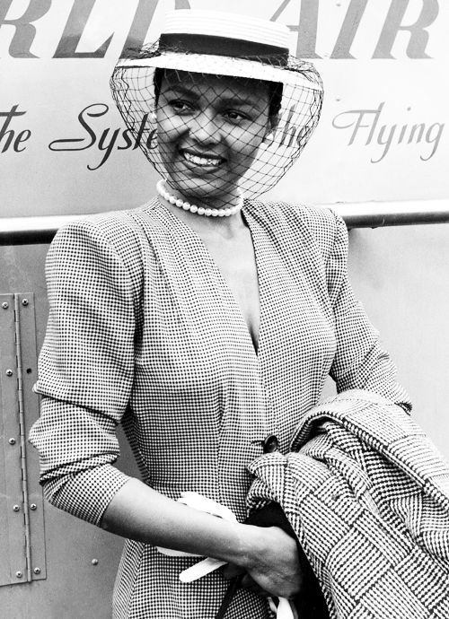 Dorothy Dandridge, 1951 #millinery #judithm #hats