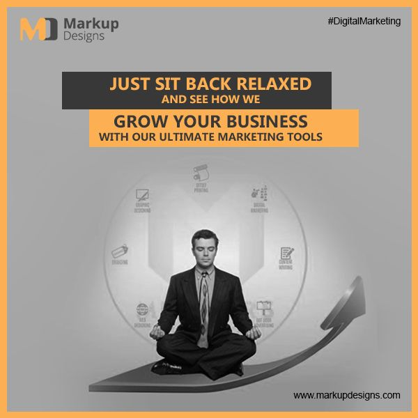Just Sit Back And Relax !! #MarkupDesigns, the leading #Digital PR Agency in #Dubai, offers innovative and creative digital #PR campaigns and #WebApplication to promote your #business in the market.  #DigitalMarketing #WebDevelopment #SEO #PPC #SMO