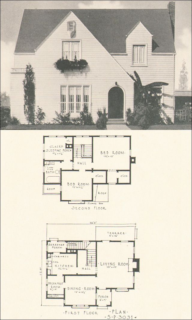 !! Plan No. 3031 From Southern Pine Homes